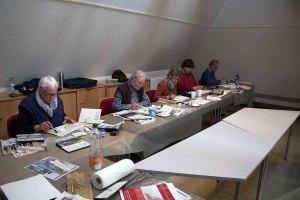 Malen im Atelier des Kunstmuseums Schwaan (c) FRank Koebsch (1)