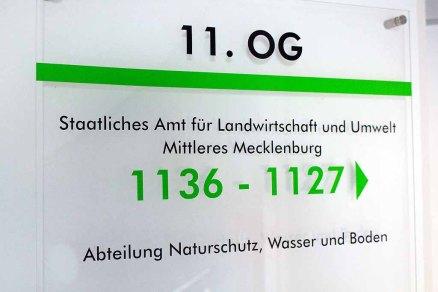 Das Staatliche Amt für Landwirtschaft und Umwelt Mittleres Mecklenburg Rostock. - unser Ausstellungsort (c) FRank Koebsch