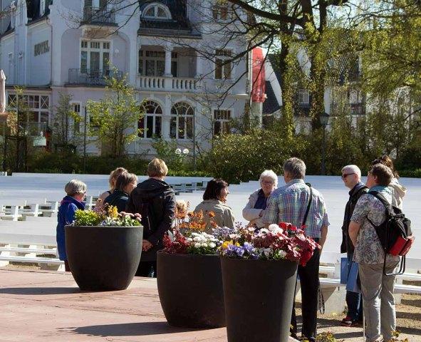 Erstes Treffen beim Plein Air Festival in Kühlungsborn (c) FRank Koebsch