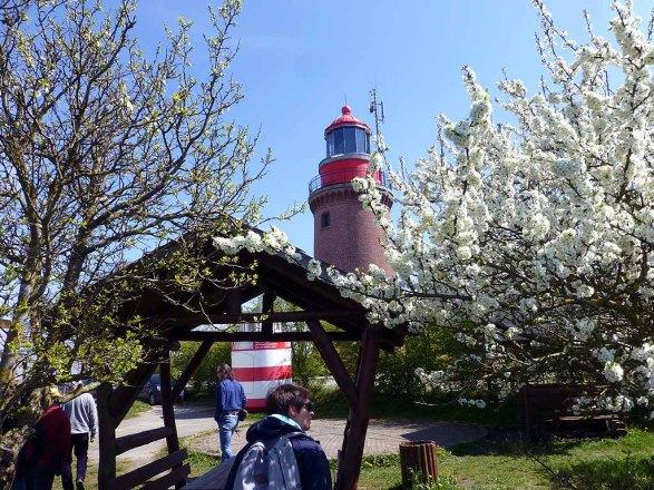 Frühling am Leuchtturm von Barstorf (c) Sonja Jannichsen