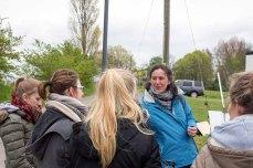 Gymnasiasten nutzen das Plein Air Festival für Ihren Leistungskurs Kunst (c) FRank Koebsch