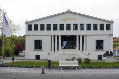 Haus des Gastes - Info Point für das Plein Air Festival Kühlungsborn (c) FRank Koebsch