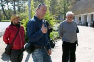 Ivan Prado, Jens Hübner und Thomas Freund bei der Eröffnung des Plein Air Festivals in Kühlungsborn (c) Sonja Jannichsen