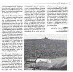 Kunst und Künstler unter freiem Himmel - Dörte Rahming - atelier 2016 12 S 33