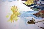 Step 12 - die Löwenzahnblüten entstehen (c) Frank Koebsch
