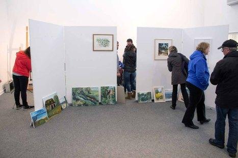 Abgabe der Bilder für die Ausstellung des Plein Air Festivals (c) FRank Koebsch (2)
