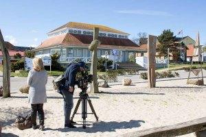 Der NDR berichtet über das Plein Air Festival Kühlungsborn (c) FRank Koebsch