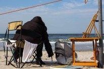 Freies Malen am Strand von Kühlungsborn im Rahmen des Plein Air Festivals (c) FRank Koebach (21)