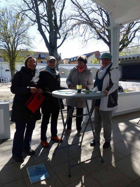 Im Workshop Aquarell des Plein Air Festivals Kühlungsborn (c) Sonja Jannichsen (5)