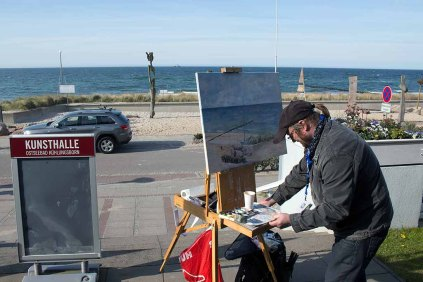 Plein Air Maler an der KunsthalleKühlungsborn (c) FRank Koebsch (2)