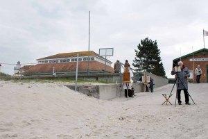 Plein Air Malerei an der Kunsthalle Kühlungsborn während des Festivals - Malen an der Ostsee (c) FRank Koebsch