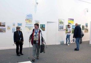 Schnappschüsse vom Hängen der Ausstellung des Plein Air Festival in der Kunsthalle Kühlunsborn (c) FRank Koebsch (4)