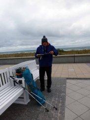 Skizzieren an der Ostsee im Aquarellworkshop des Plein Air Festivals in Kühlungsborn (c) Sonja Jannichsen (1)