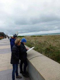 Skizzieren an der Ostsee im Aquarellworkshop des Plein Air Festivals in Kühlungsborn (c) Sonja Jannichsen (4)