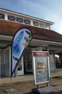 Startpunkt für das Freie Malen bei Plein Air Festival - die Kunsthalle Kühlungsborn (c) FRank Koebsch (2)