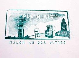 Stempel für die Teilname am Freien Malen des Plein Air Festivals in Kühlungsborn (c) FRank Koebsch