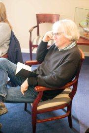 Teilnehmer Skizziert das Interview mit Jens Hübner (c) FRank KoebschTeilnehmer Skizziert das Interview mit Jens Hübner (c) FRank Koebsch