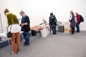 Vorbereitungen auf das Freie Malen beim Plein Air Festival in Kühlungsborn (c) FRank Koebsch (1)