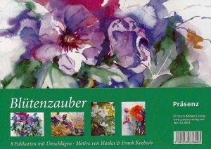 Kunstkarten Box Blütenzauber mit Aquarellen von Hanka & Frank Koebsch vom Präsenz Verlag (1)