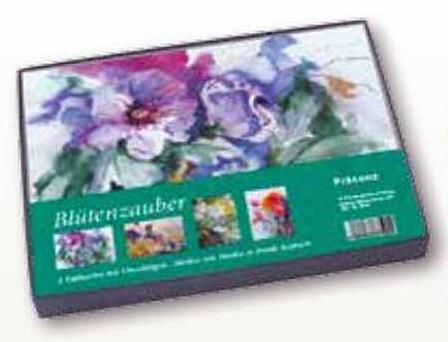 Kunstkarten Box Blütenzauber mit Aquarellen von Hanka & Frank Koebsch vom Präsenz Verlag (3)