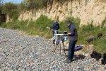 Malen an der Steilküste auf Klein Zicker (c) FRank Koebsch (2)