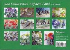 Postkarten-Serie Auf dem Land mit Aquarellen von Hanka & Frank Koebsch im Präsenz Verlag (2)