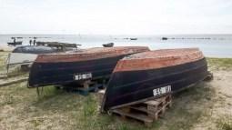 Alte Boote am Strand zwischen Klein Zicker und Thiessow (c) FRank Koebsch