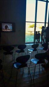 Blick in den Kongressraum des Nordischen Aquarellmuseums (c) Frank Koebsch