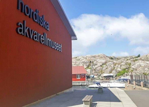 Das Nordische Aquarellmuseum – Nordiska Akvarellmuseet – in Skärhamn auf der Insel Tjörn (c) Frank Koebsch (2)