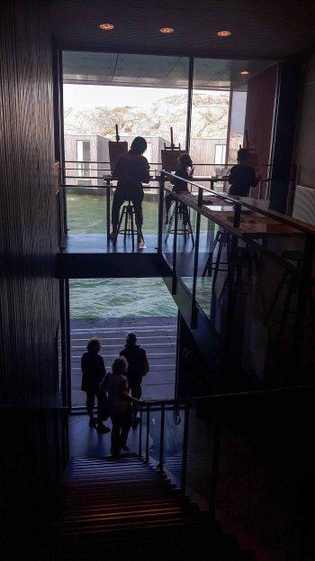 Einblicke in das Nordische Aquarellmuseum (c) Frank Koebsch