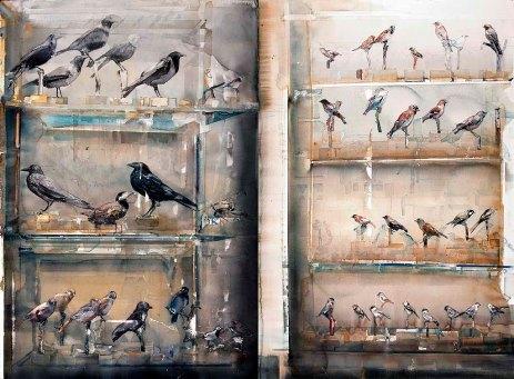 Lars Lerin Fåglar, Birds 2011