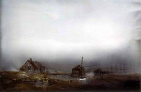 Lars Lerin- Mist -1997