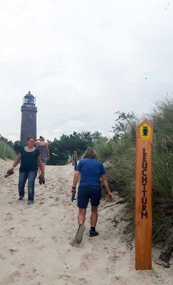 Leuchtturm Darßer Ort im Nationalpark (c) Frank Koebsch