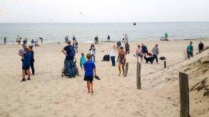 Reges Treiben am Strand vom Darßer Ort (c) Frank Koebsch