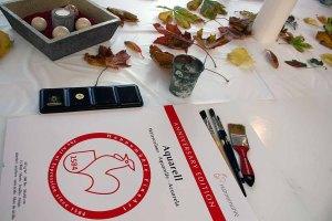 Schnappschüsse aus dem Aquarellkurs - bunter Herbstblätter (c) FRank Koebsch (3)