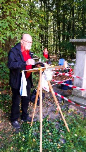 Malen am Jagdschloss Granitz (c) Frank Koebsch (4)