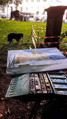 Malen am Jagdschloss Granitz (c) Frank Koebsch (5)