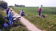 Malreise an die Ostsee - Malen am Leuchtturm Bastorf (c) FRank Koebsch (1)