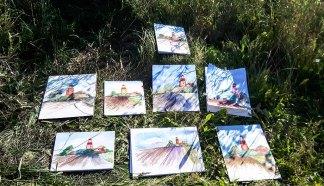 Malreise an die Ostsee - Malen am Leuchtturm Bastorf (c) FRank Koebsch (13)