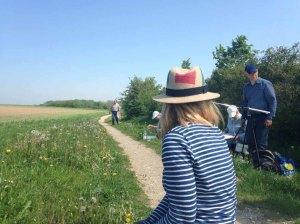 Malreise an die Ostsee - Malen am Leuchtturm Bastorf (c) Kirsten Paulsen (1)