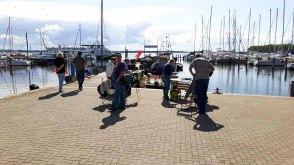 Malreise an die Ostsee - Malen im Hafen von Rerik (c) Frank Koebsch (17)