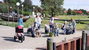 Malreise an die Ostsee - Malen im Hafen von Rerik (c) Frank Koebsch (18)