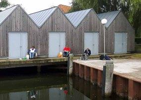 Malreise an die Ostsee - Malen im Hafen von Rerik (c) Frank Koebsch (24)