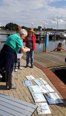 Malreise an die Ostsee - Malen im Hafen von Rerik (c) Frank Koebsch (26)