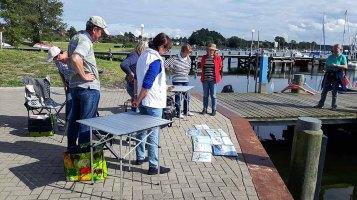 Malreise an die Ostsee - Malen im Hafen von Rerik (c) Frank Koebsch (27)