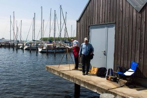 Malreise an die Ostsee - Malen im Hafen von Rerik (c) Frank Koebsch (6)