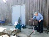 Malschüler von FRank Koebsch im Hafen Rerik - Mai 2017 (c) Kirsten Paulsen