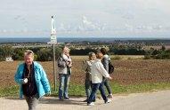 Wenn Engel reisen - Wunderbares Wetter für unsere Malreise an die Ostsee (c) FRank Koebsch