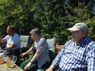 Ausspannen im Garten der Alten Büdnerei (c) Kirsten Paulsen (2)