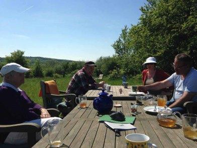 Ausspannen im Garten der Alten Büdnerei (c) Kirsten Paulsen (3)